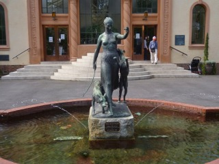 Artemis Statue - Fitzroy Gardens