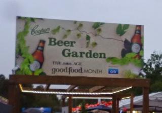 Coopers Pale Ale Beer Garden