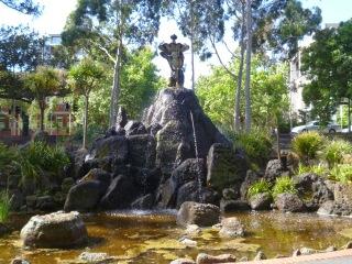 River God Fountain - Fitzroy Gardens