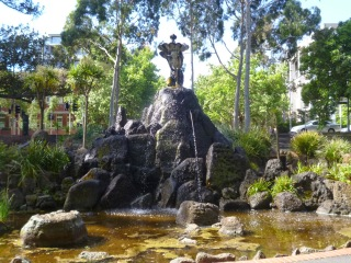 River God Fountain - Fitzroy Gardens