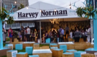 Harvey Norman Tent