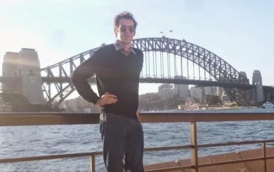Me before the Harbour Bridge