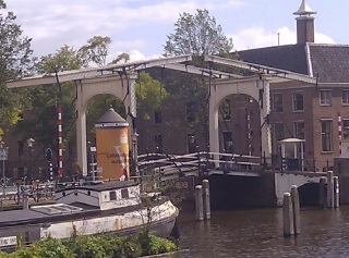 The Magre Burg in Amsterdam