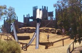 St Kilda Playground Castle - Front