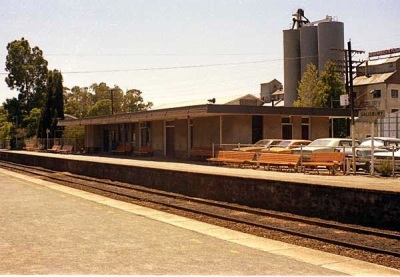 Salisbury Railway Station - South Bound