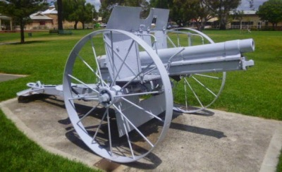 Cannon at Pioneer Park