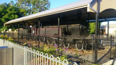 Old Steam Train - Gawler Railway Station
