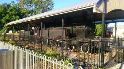 Old Steam Train - Gawler Railway Station