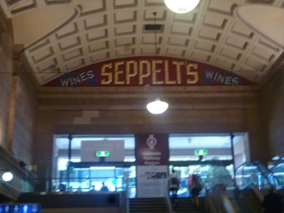 Adelaide Railway Station - Sepelt's Wines