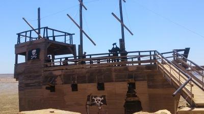 St Kilda Playground Pirate Ship