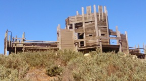 St Kilda Playground Castle - Rear