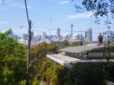 Sydney from Glebe