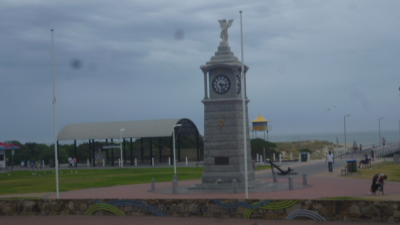 Semaphore Beach-side Clock