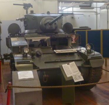 Restored Tank