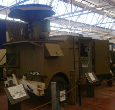 Signal Corps Radar Trailer
