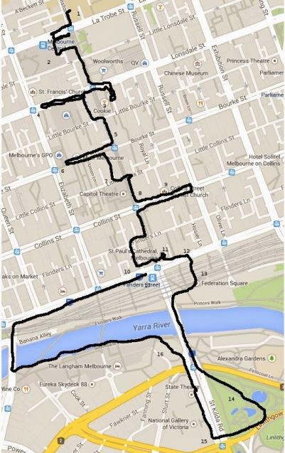 White Night route
