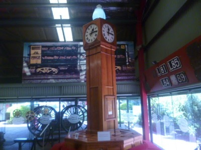 Adelaide Railway Station Concourse Clock