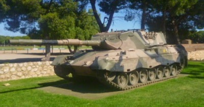 Two Wells Leopard Tank
