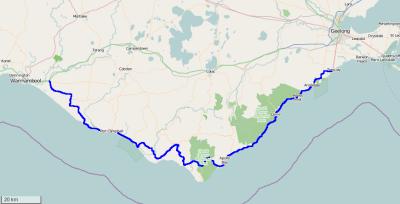 Great Ocean Road Map