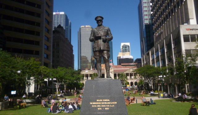 Anzac Square Statue