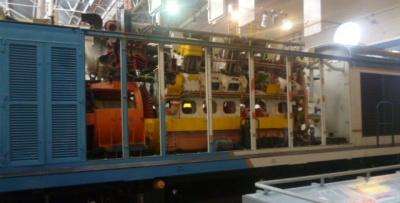Diesel Train Interior