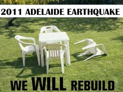Adelaide Earthquake