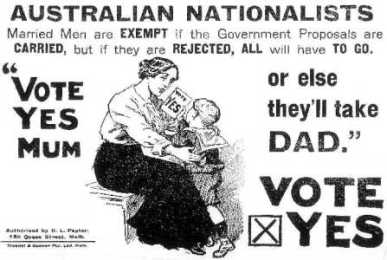 Pro-Conscription Poster