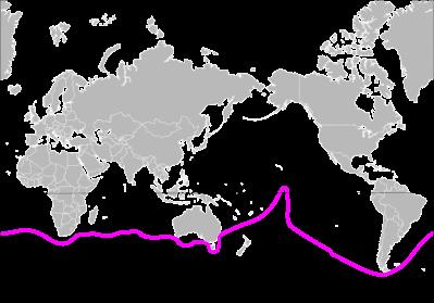 Jessica Watson's Route