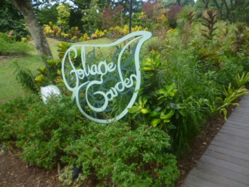 Foilage Garden Entrance