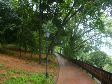 Fort Canning Park Path