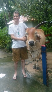 Me with Water Buffalo