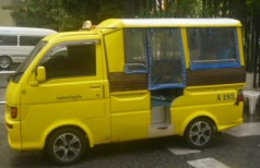 Yellow Tuktuk