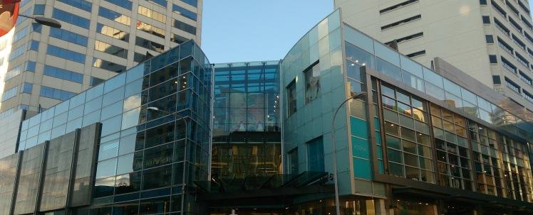 Shopping Centre Entrance