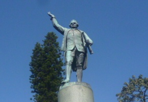 (pic - Story) Hyde Park - Captain Cook