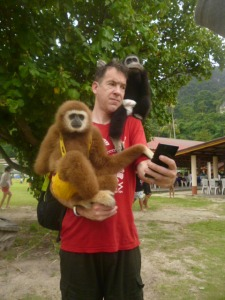 The monkeys and me