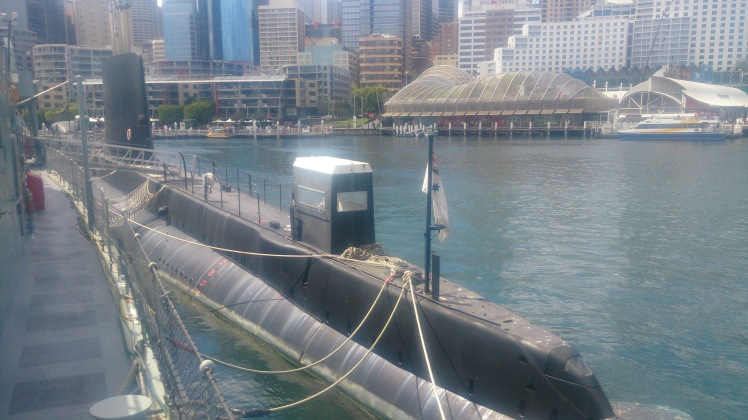 (pic - Story) Maritime Museum - HMAS Onslow Outside 01