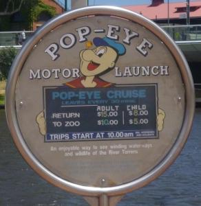 Popeye Sign