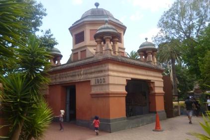 Old Elephant Enclosure