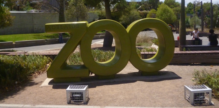 (pic - Story) Adelaide Zoo - Sign