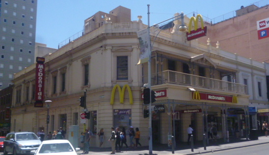 (pic - Story) Hindley Street - McDonalds