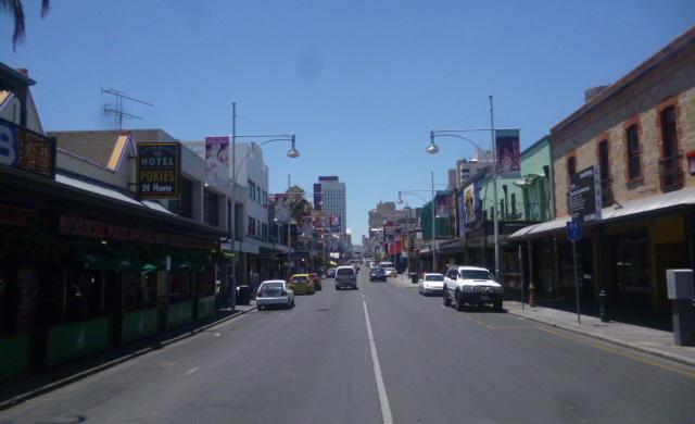 Morphett Street End