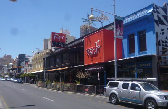 (pic - Story) Hindley Street - Red Bar