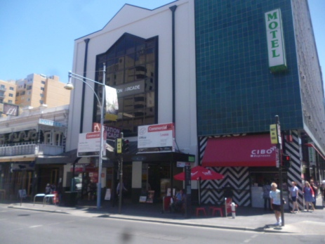 (pic - Story) Hindley Street - Station Arcade