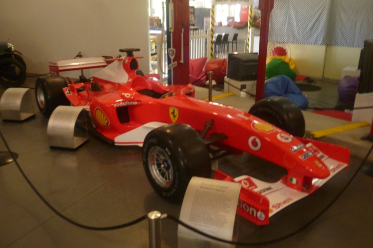 (pic - Story) Motor Museum - Racing Car