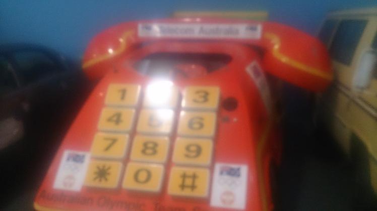 (pic - Story) Motor Museum - Telephone Car