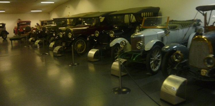 (pic - Story) Motor Museum - Wall of Cars