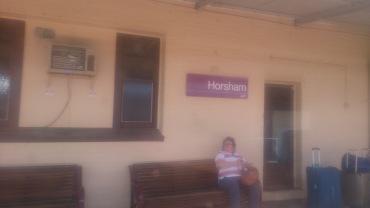 (pic - Story) Overland - Horsham Station 02