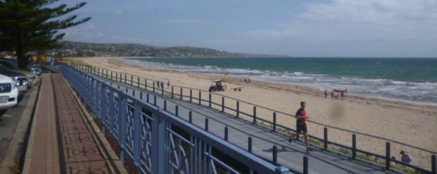 (pic - Story) Brighton SA - Beach