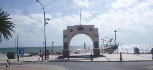 (pic - Story) Brighton SA - War Memorial