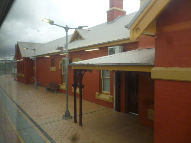 (pic - Story) Gosford Glyphs - Hornsby Station